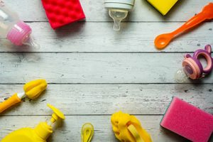 baby items that require regular cleaning