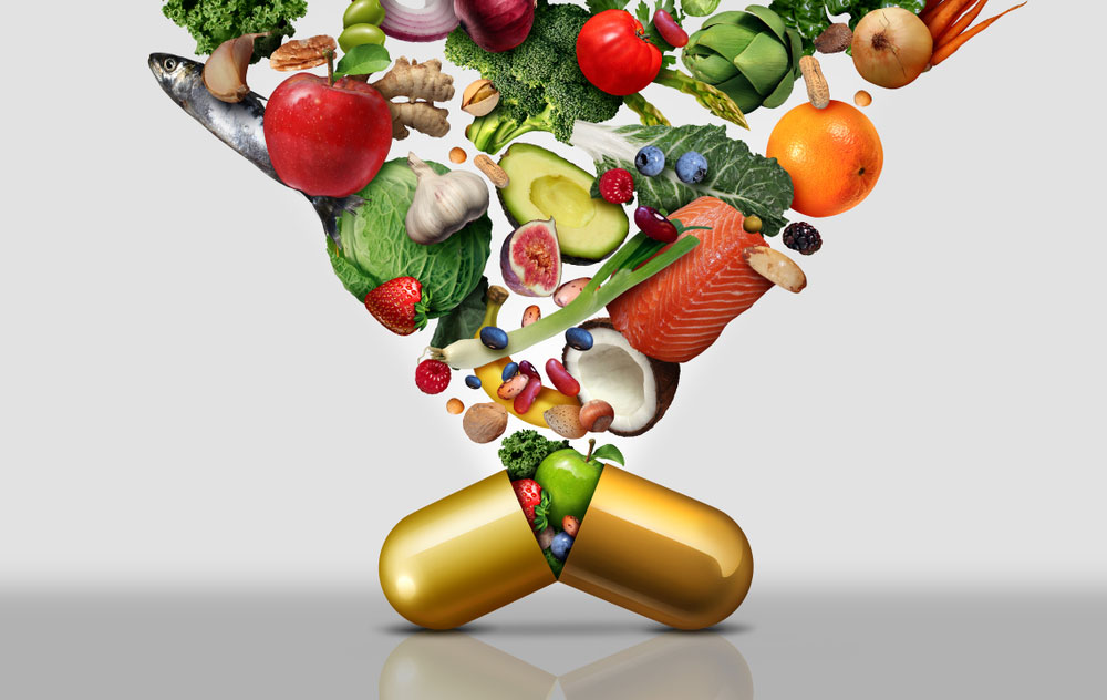 shows diet supplements
