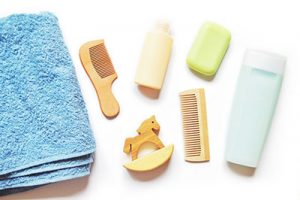 Items For Baby's Bath