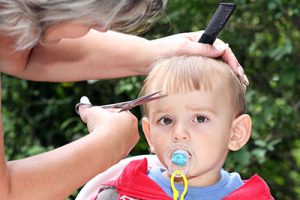 How to Cut Baby Hair